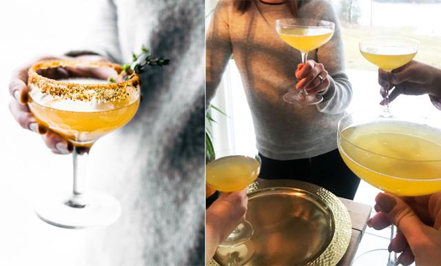 Citronsorbet + bubbel fixar helgens godaste drink - Sgroppino