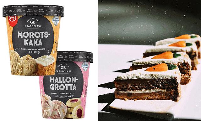 Hallongrotta eller morotskaka- nu kommer fikaglassen med 4 olika smaker!