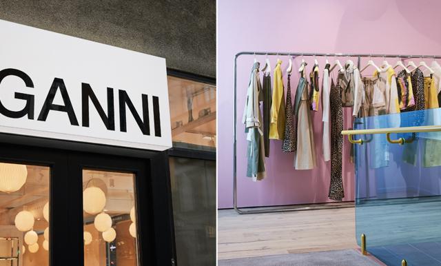 Nu öppnar Ganni flaggskeppsbutik i Stockholm – här är allt vi vet!