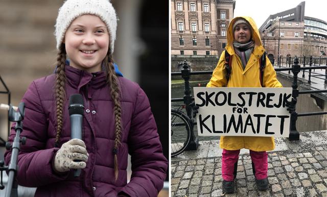 Miljöhjälten Greta Thunberg utsedd till årets kvinna 2019