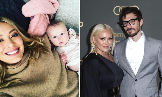 Hilary Duff delar med sig av video från sin hemmaförlossning – se den här!