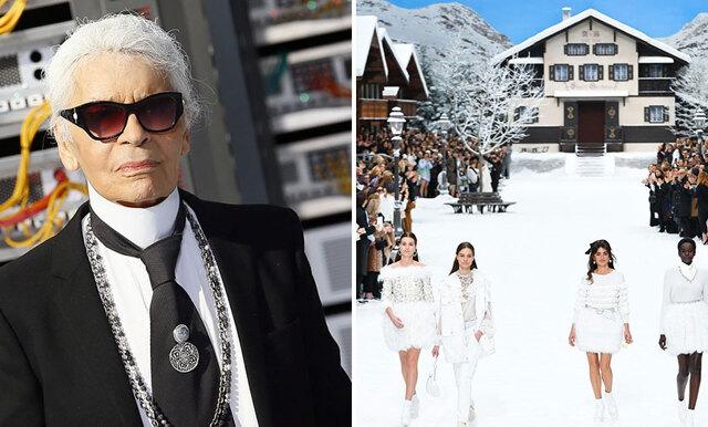 Fjälltema och snömagi - Karl Lagerfelds sista kollektion för Chanel