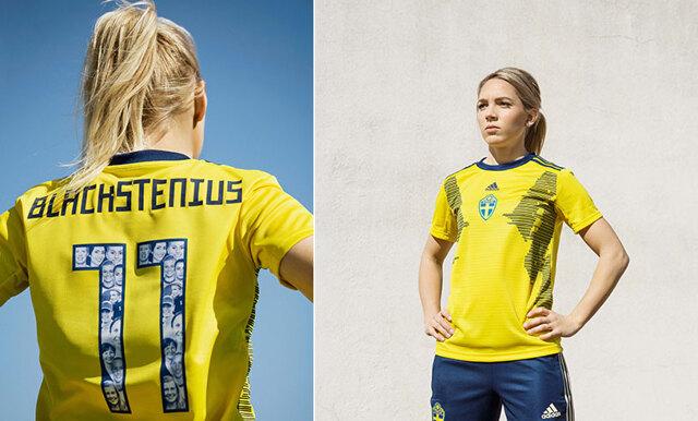 Damlandslagets nya tröja - en hylling till alla kvinnor som skapar historia