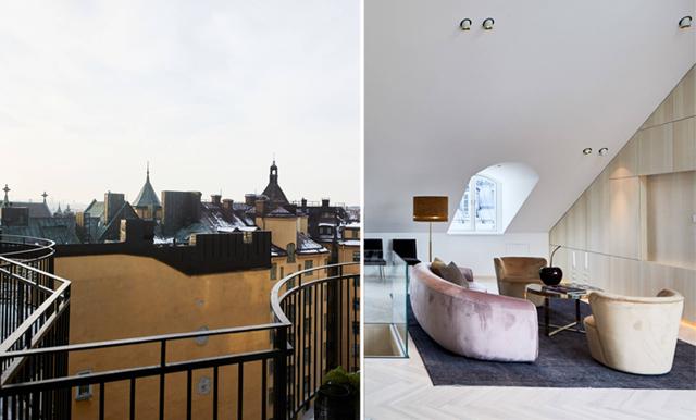 Den här drömmiga takvåningen är Stockholms dyraste lägenhet!