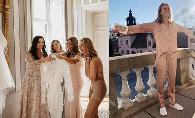 SNEAK PEEK på Margaux Dietz bröllopsklänning (som är SÅ fin)!