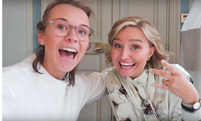 Bakisbröllop och Ebba Busch Thor som vigselförättare - när Margaux Dietz gifter sig