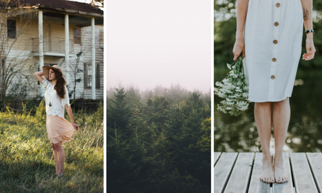 Från skog till hållbara designerplagg
