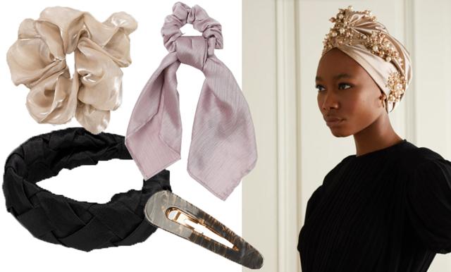 Hårspännen och scarfs – smycka håret med vinterns trendaccessoarer