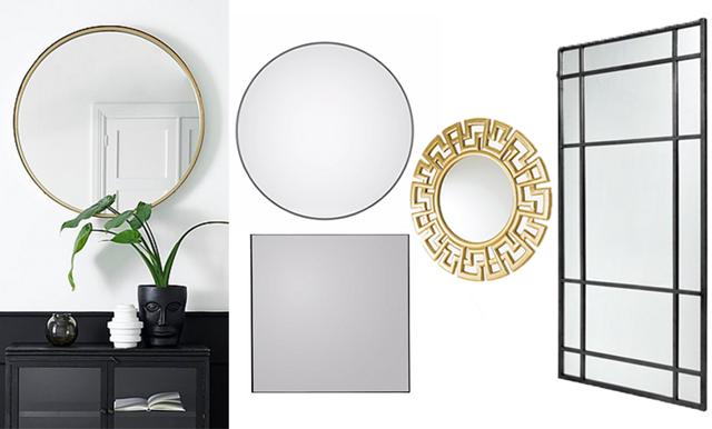 Här är 18 magiska speglar som lyfter ditt hem direkt