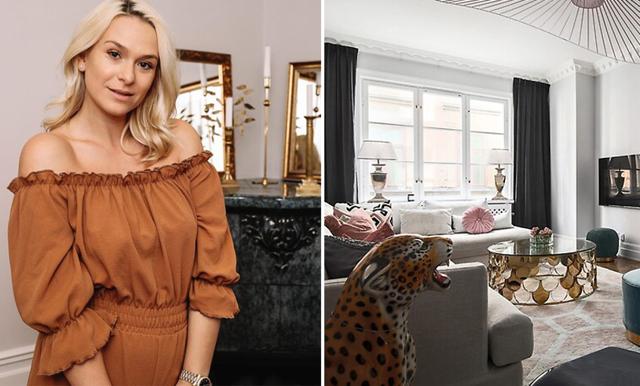 Dasha säljer sin lyxiga lägenhet mitt i Stockholm – spana in den här!