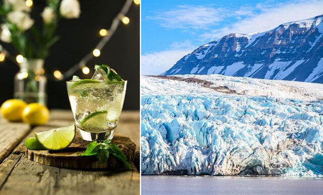 Ta dig till baren i Nordpolen och få gratis gin för resten av livet!