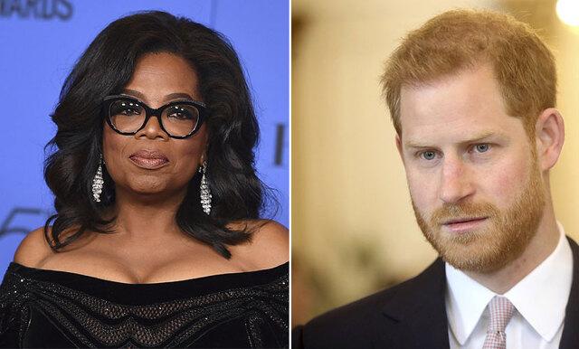 Powersamarbete! Prins Harry och Oprah släpper serie om psykisk ohälsa
