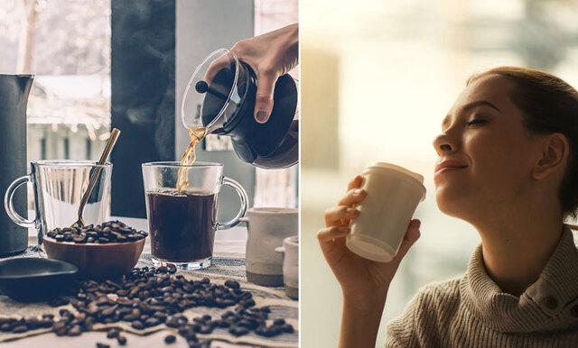 Ny studie: Det räcker med att titta på kaffet för att bli pigg
