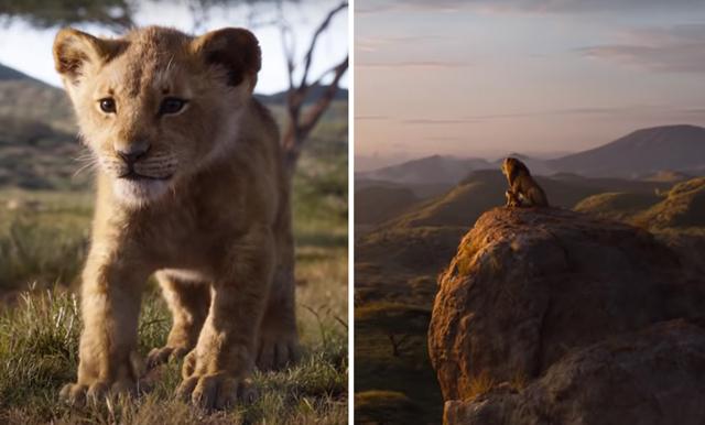 Nostalgitripp! Nya trailern till Lejonkungen är helt magisk