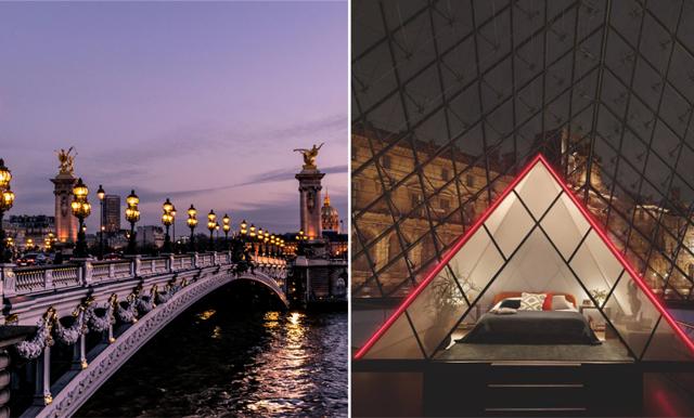 Sov under stjärnhimlen i Paris – gör dig redo för livets övernattning på Louvren!
