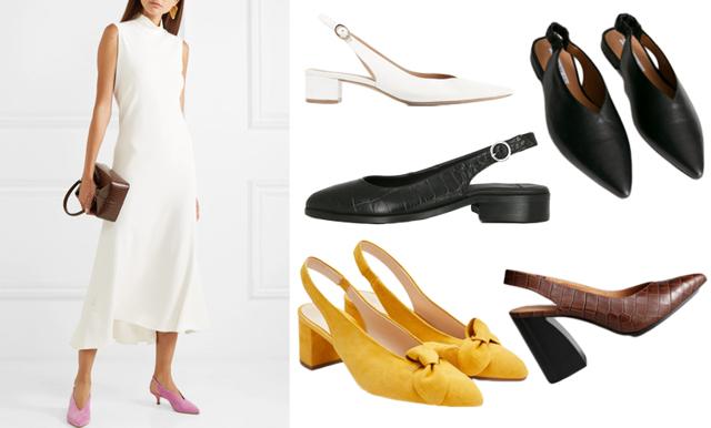Säsongens trendigaste sko – 11 slingbacks att bära i vår