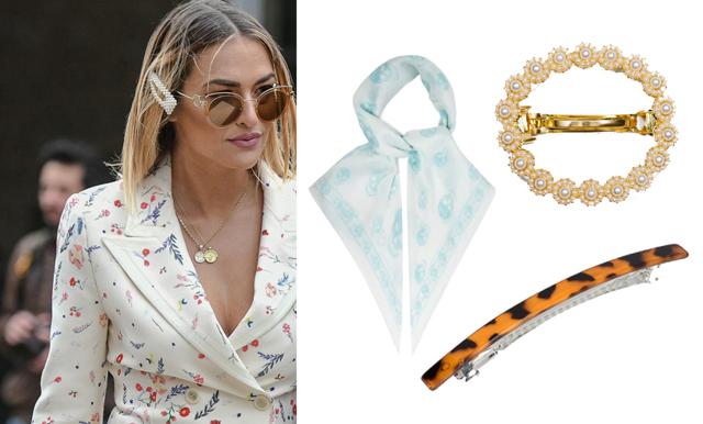 Hårspännen och scarfs – smycka håret med vårens trendaccessoarer