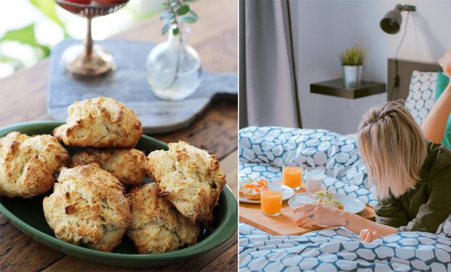 Ingen helg utan mysfrukost! Fixa det med enkla och snabba