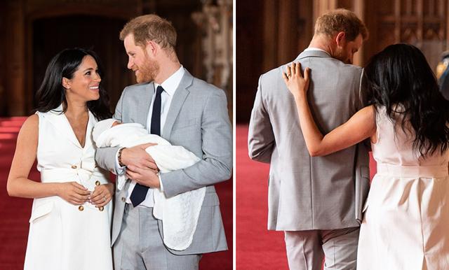 Nu vet vi – det här ska Meghan Markles och prins Harrys son heta!