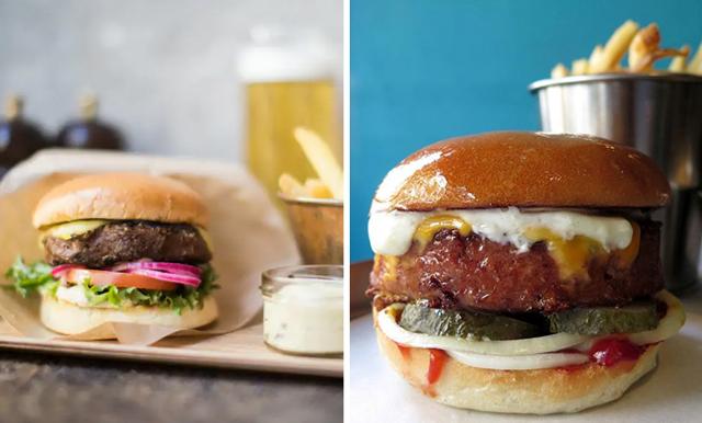 Smakar och ser ut som kött – här är alla ställen där du kan äta den hajpade vegan-burgaren