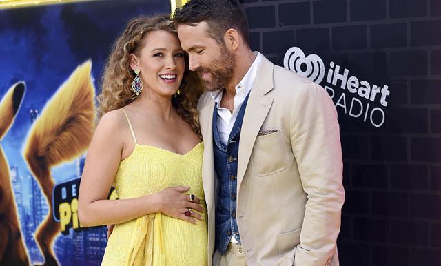 Bebislycka! Blake Lively väntar sitt tredje barn med Ryan Reynolds