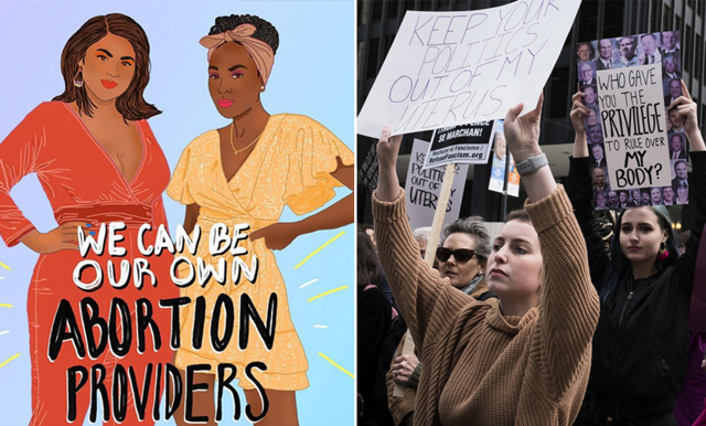 Protester mot abortlagen är i full gång – USA:s gator fylls med demonstranter