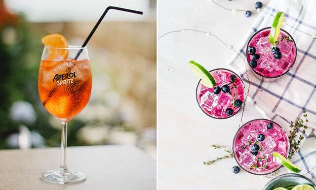Fruktigt, isigt och fräscht - här är sommarens godaste drinkar