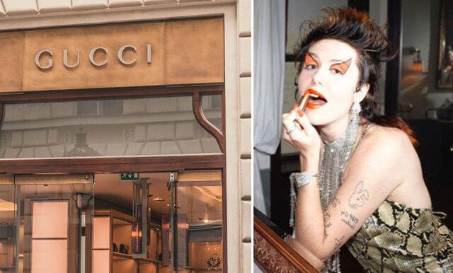 Oväntade leendet - Guccis nya skönhetskampanj väcker starka reaktioner