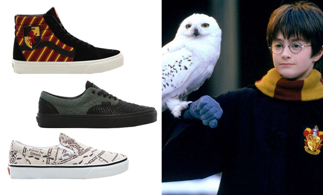 Se hit mugglare – nu lanserar Vans en Harry Potter-kollektion
