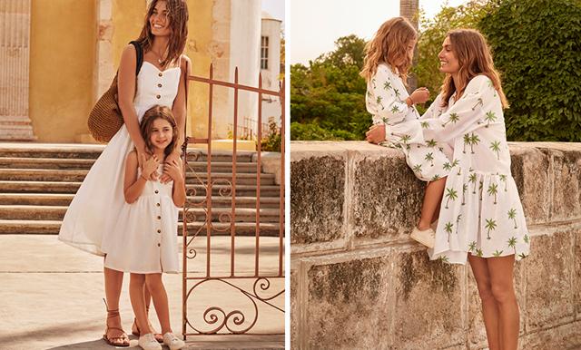 Matcha outfits med din dotter – nu lanserar H&M en mini me-kollektion