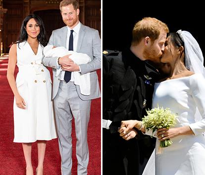 Sötchock! Här är de första bilderna på prins Harrys och Meghan Markles bebis