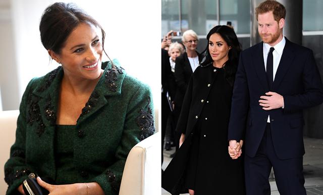 Hovet bekräftar – nu föder Meghan Markle sitt och prins Harrys första barn