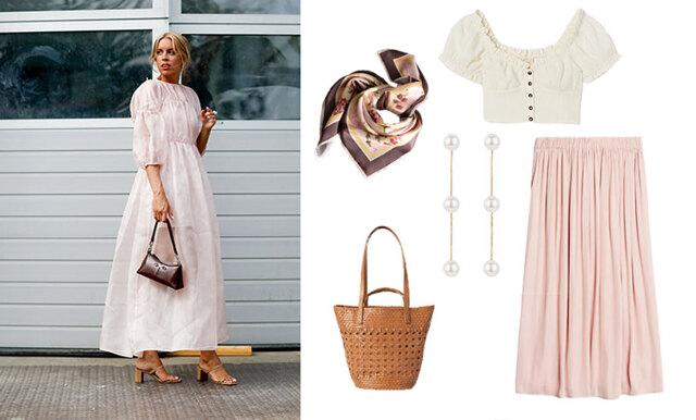 Pärlor, spets och volanger – så klär du dig romantiskt chic i sommar!