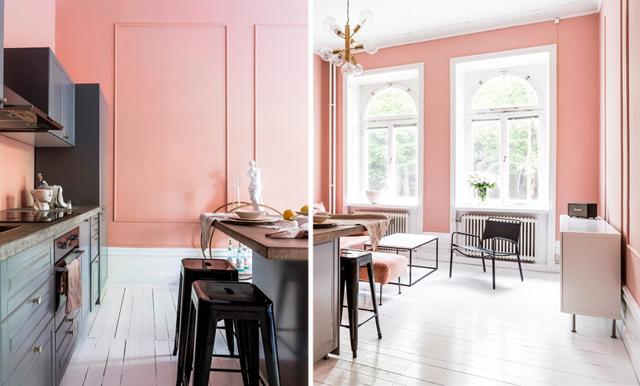 WOW! Spana in den här rosa sekelskiftesdrömmen på Södermalm i Stockholm