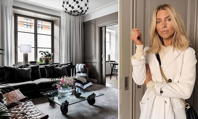 Sanne Alexandra säljer sin drömmiga lägenhet - inredningsinspiration till max!