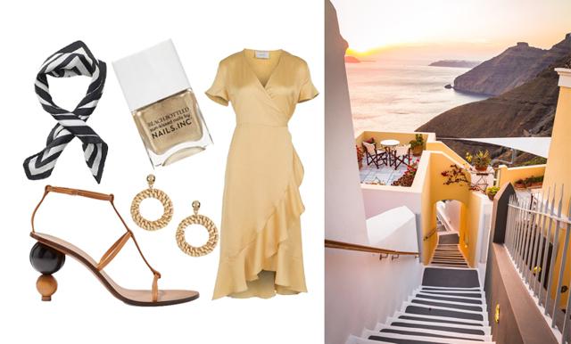 Metro Mode-Alexias semesterstil i Grekland – 3 snygga outfits att sno rakt av!