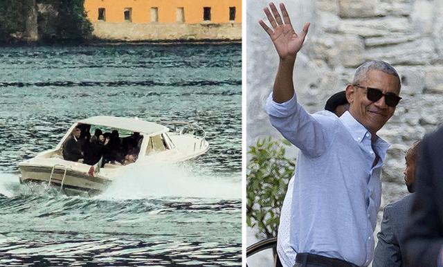 Barack Obama och George Clooney semestrar tillsammans i Italien – här är bilderna!