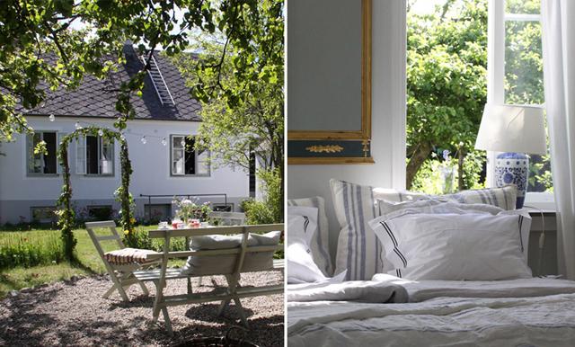 """Sommarhuset """"Gröna Anna"""" på Österlen är vår nya semesterdröm"""
