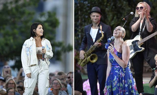 Här är alla artister och datum för Allsång på Skansen i sommar