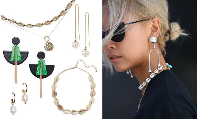 Pärlor, snäckor och statement-örhängen – här är sommarens trendigaste smycken