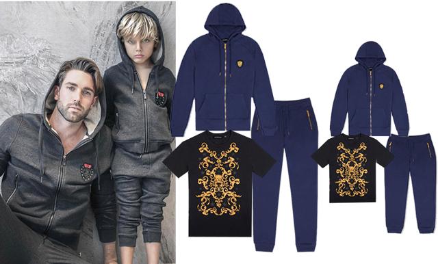 En perfekt present! 14 matchande kläder för pappa och son