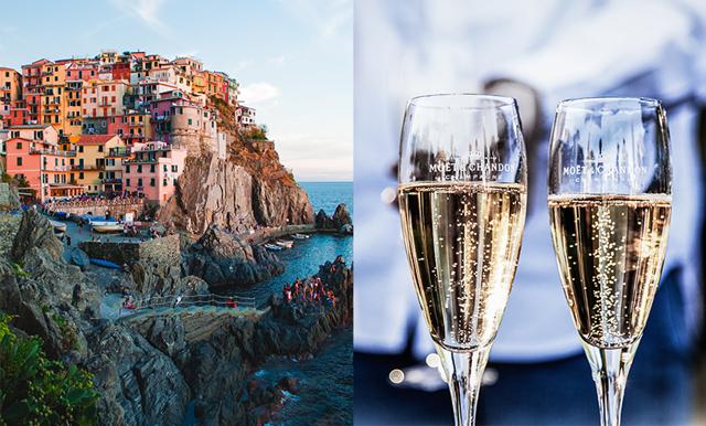 Här är det Italienska lyxtåget med fantastiska vyer och fri champagne