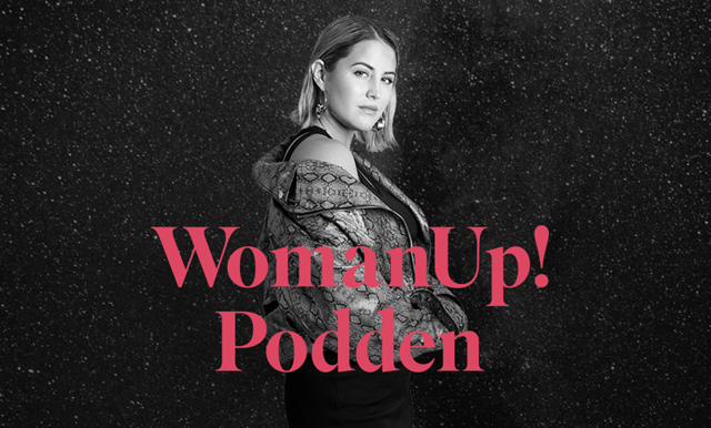 Molly Sandén i WomanUp-podden: