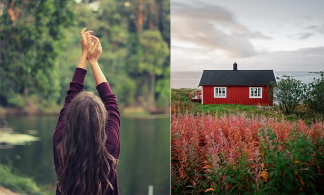 Ny studie: Kvinnor som lever nära naturen – mår bättre och lever längre