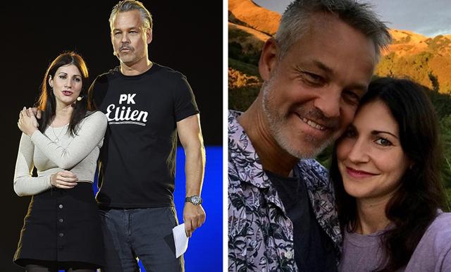 Nour El Refai väntar barn tillsammans med Henrik Schyffert – berättar om svåra graviditeten