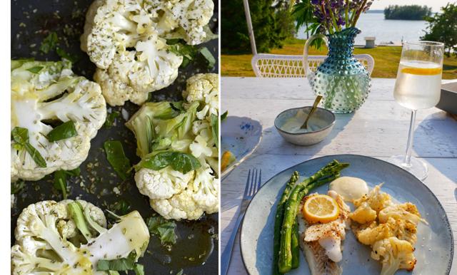 Parmesanrostad blomkål till ALLT om vi får bestämma - klar på 10 min