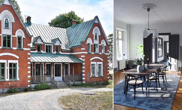 Sofie Gidfeldt knep den omskrivna prästgården: