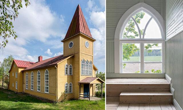 Skapa ditt drömmars boende – veckans hem är kyrkan i Sandby!