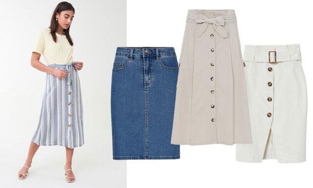 Veckans bästa kap från kedjorna – 17 kjolar som passar på jobbet!