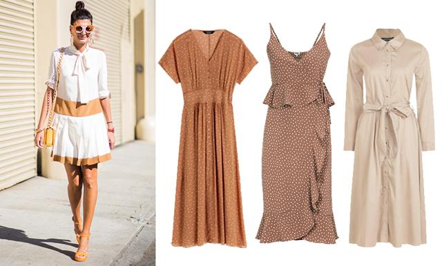 Veckans kap från kedjorna – 17 somriga klänningar i jordnära färger